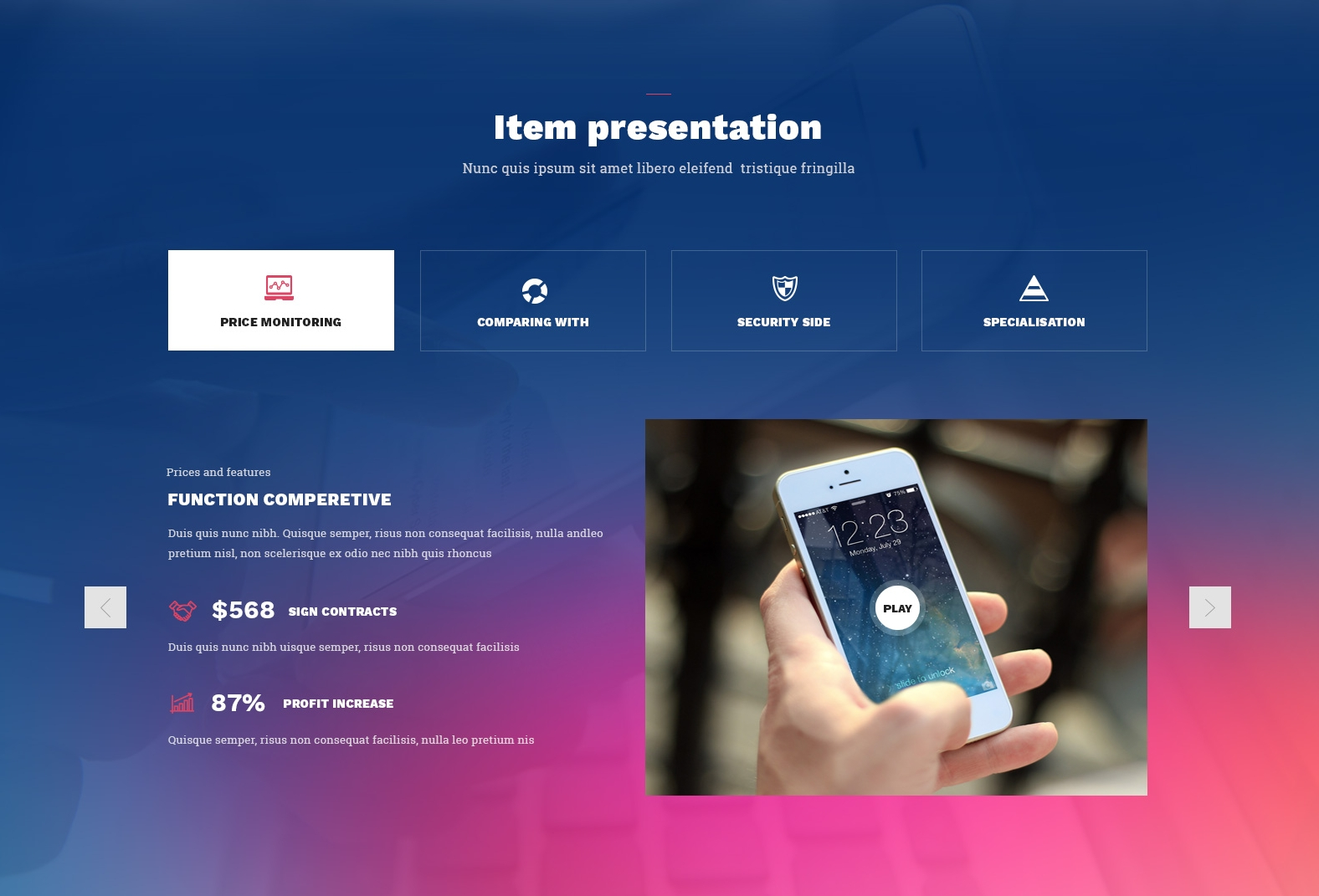CSS3 Bootstrap Starter Theme