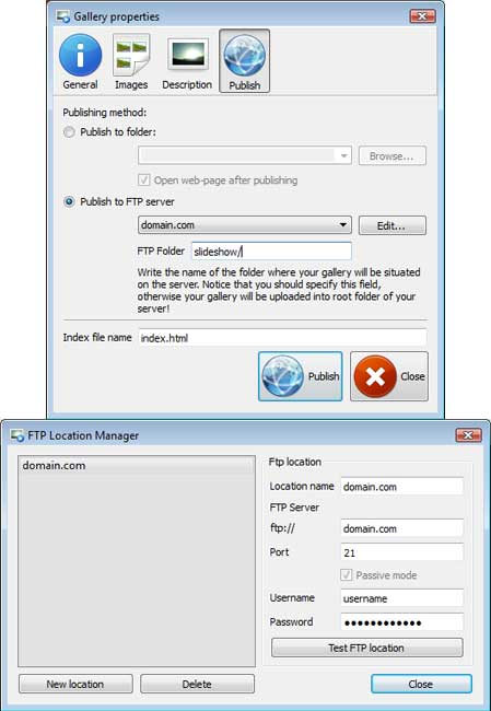 Publish to FTP : Gallerypro Flash 1 9 8 Descargar