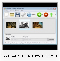 Autoplay Flash Gallery Lightroom Flash Smooth Slideshow Tutorial
