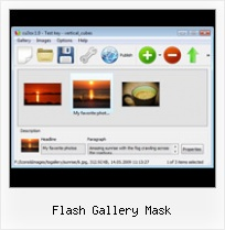 Flash Gallery Mask Flash Slide Show Free Advertising
