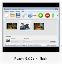Flash Gallery Mask Flash As3 Thumbnail Scroller