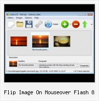 Flip Image On Mouseover Flash 8 3d Flash Gallery Freeware