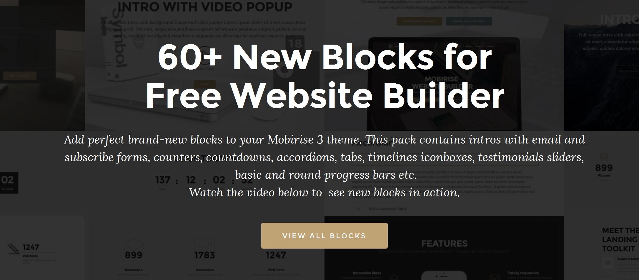Simple Responsive Site Builder Software