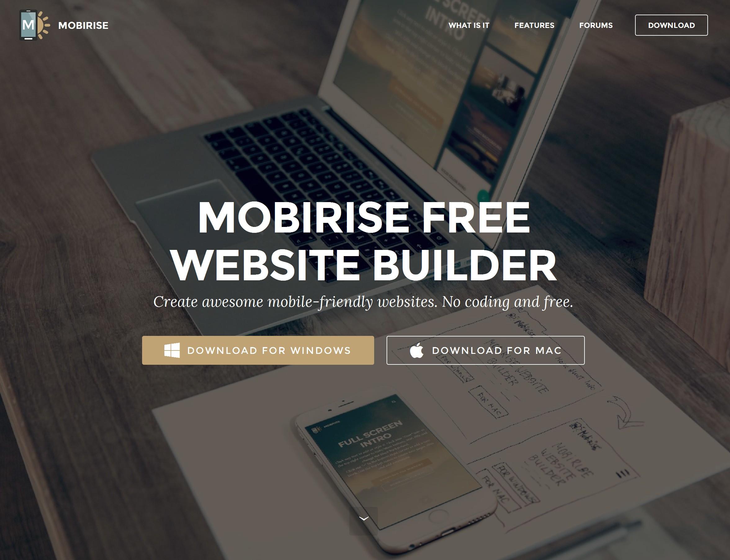Simple Responsive Web Maker Software