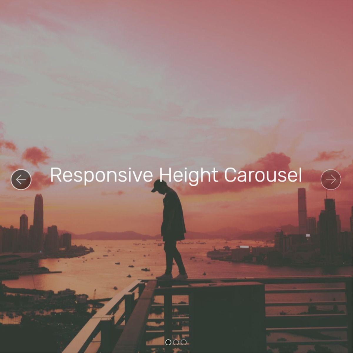 JavaScript Bootstrap Photo Carousel