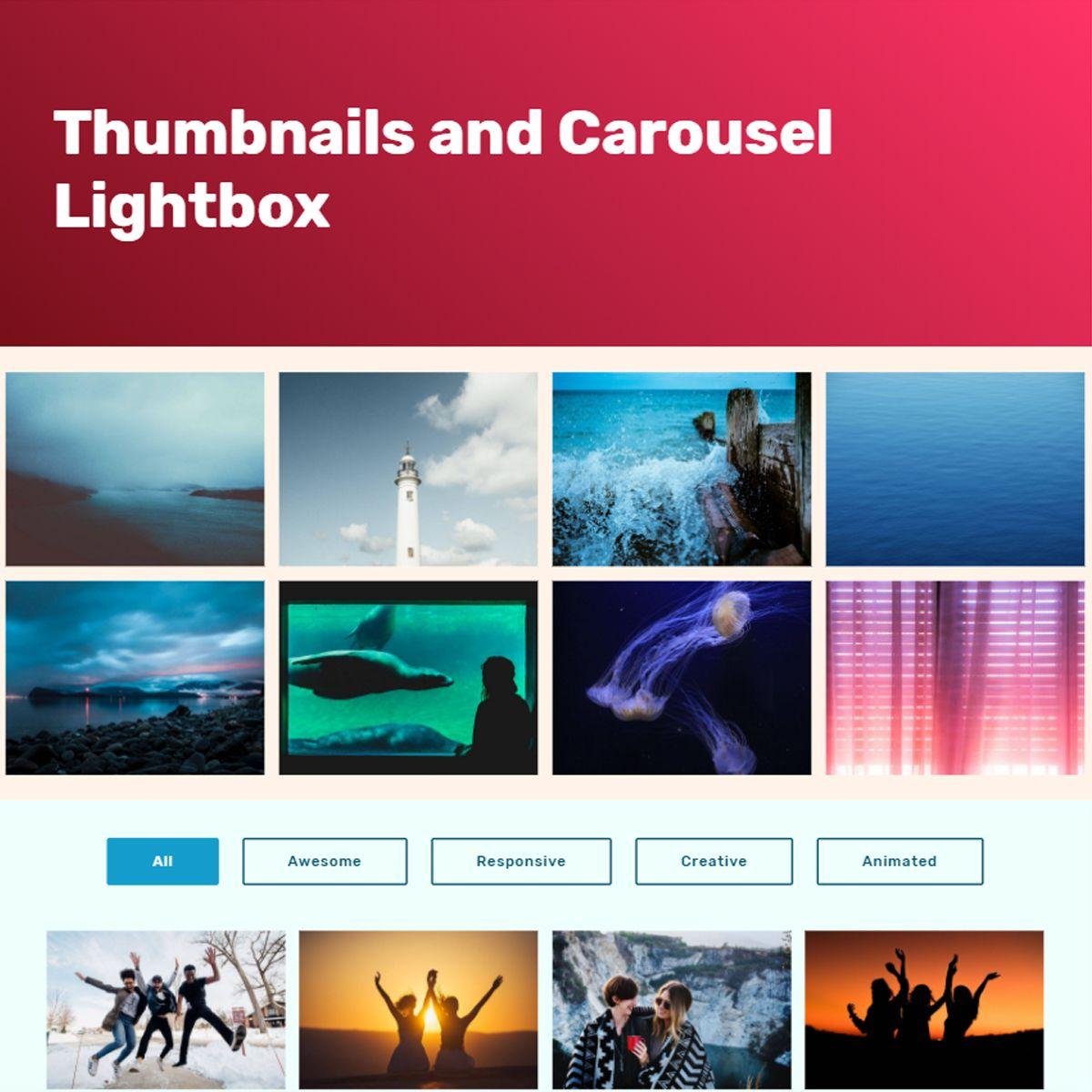 Mobile Bootstrap Image Slideshow