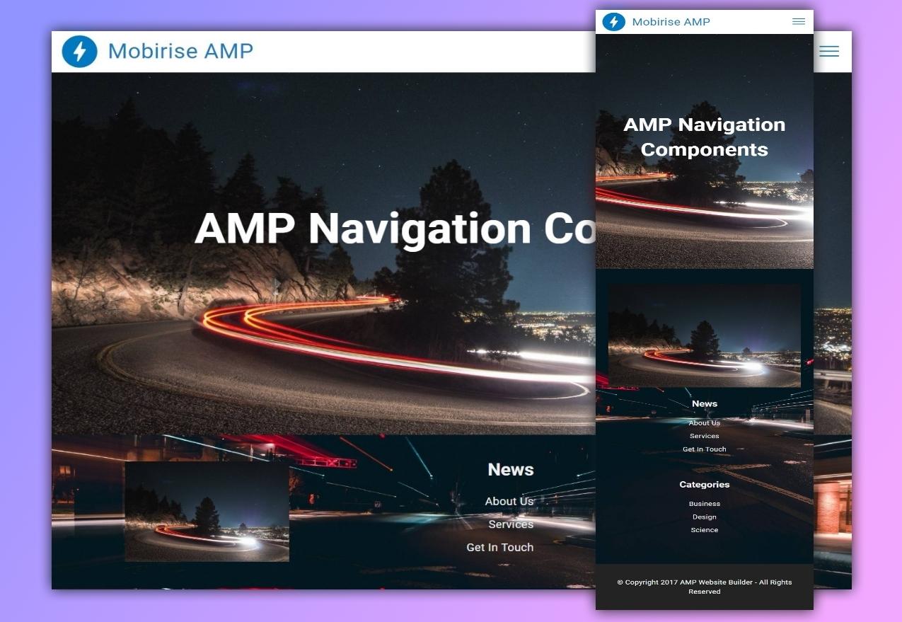 AMP Navigation