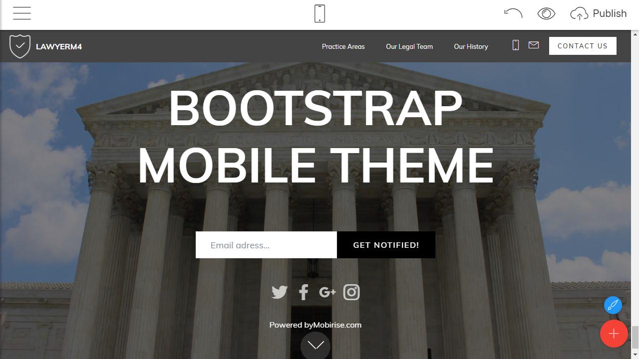 Responsive Site Template